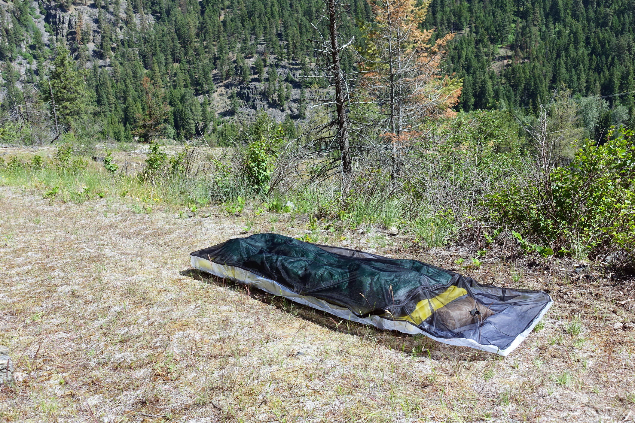 Ultralight Cuben Bug Bivy