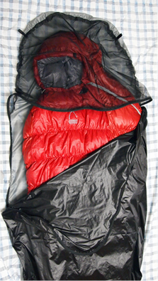 side zipper bivy