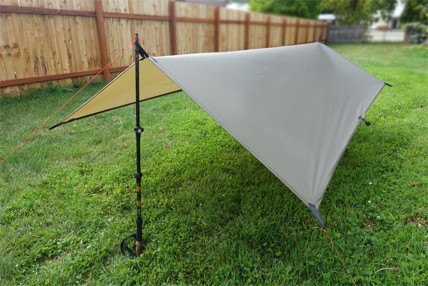 Ultralight solo tarp